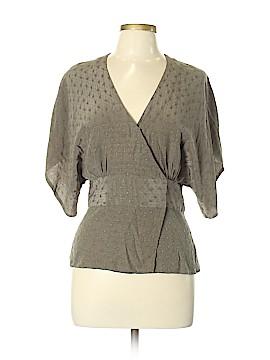 Paul & Joe Short Sleeve Silk Top Size Lg (3)