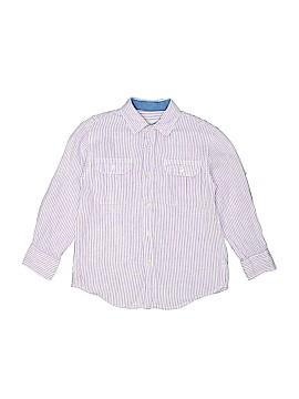 Crewcuts Long Sleeve Button-Down Shirt Size M (Kids)