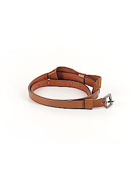 Massimo Dutti Leather Belt Size S