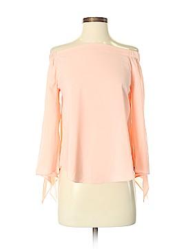 Joan Vass 3/4 Sleeve Blouse Size S