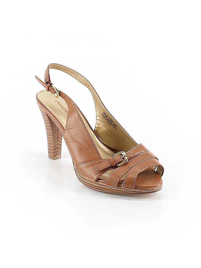 5035525b10c9 Cloudwalkers Solid Brown Heels Size 10 - 57% off