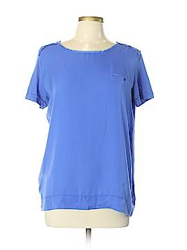 MNG Basics Short Sleeve Blouse Size L