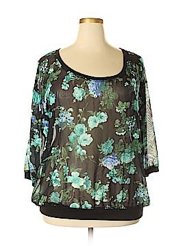 Bobbie Brooks 3/4 Sleeve Blouse Size 2X (Plus)
