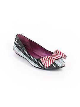 Coach Heart Poppy Flats Size 9 1/2