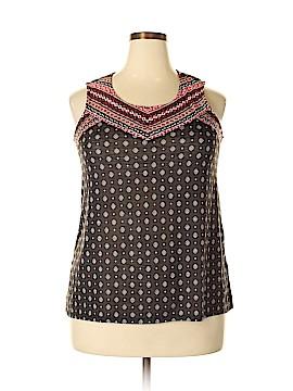 Verve Ami Sleeveless Blouse Size XL