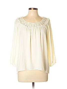 Xhilaration Long Sleeve Blouse Size L