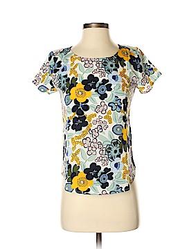 Ann Taylor Factory Short Sleeve Blouse Size XXS (Petite)