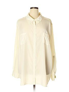 George Long Sleeve Blouse Size 4X (Plus)