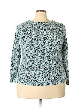 Talbots Long Sleeve T-Shirt Size 2X (Plus)