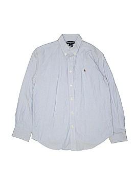 Ralph by Ralph Lauren Long Sleeve Button-Down Shirt Size 16