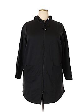 Roaman's Zip Up Hoodie Size 18 (L) (Plus)
