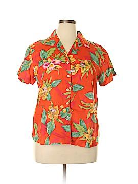 Ralph by Ralph Lauren Short Sleeve Button-Down Shirt Size L
