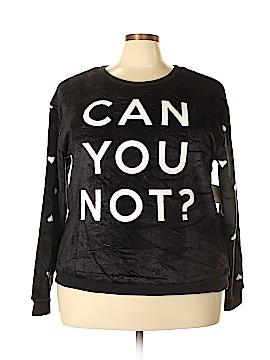 Hybrid Apparel Sweatshirt Size 1X (Plus)