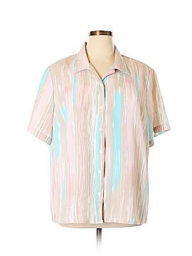 Allison Daley Short Sleeve Blouse Size 22 (Plus)