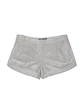 BCBGMAXAZRIA Faux Leather Shorts Size M