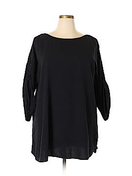 Soft Surroundings 3/4 Sleeve Top Size 1X (Plus)