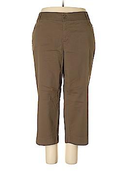Sejour Khakis Size 24 (Plus)