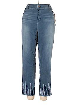Jones New York Jeans Size 24 (Plus)