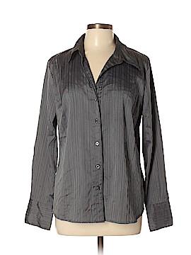 DressBarn Long Sleeve Button-Down Shirt Size XL