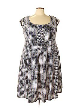 Cherry Velvet Casual Dress Size 3X (Plus)
