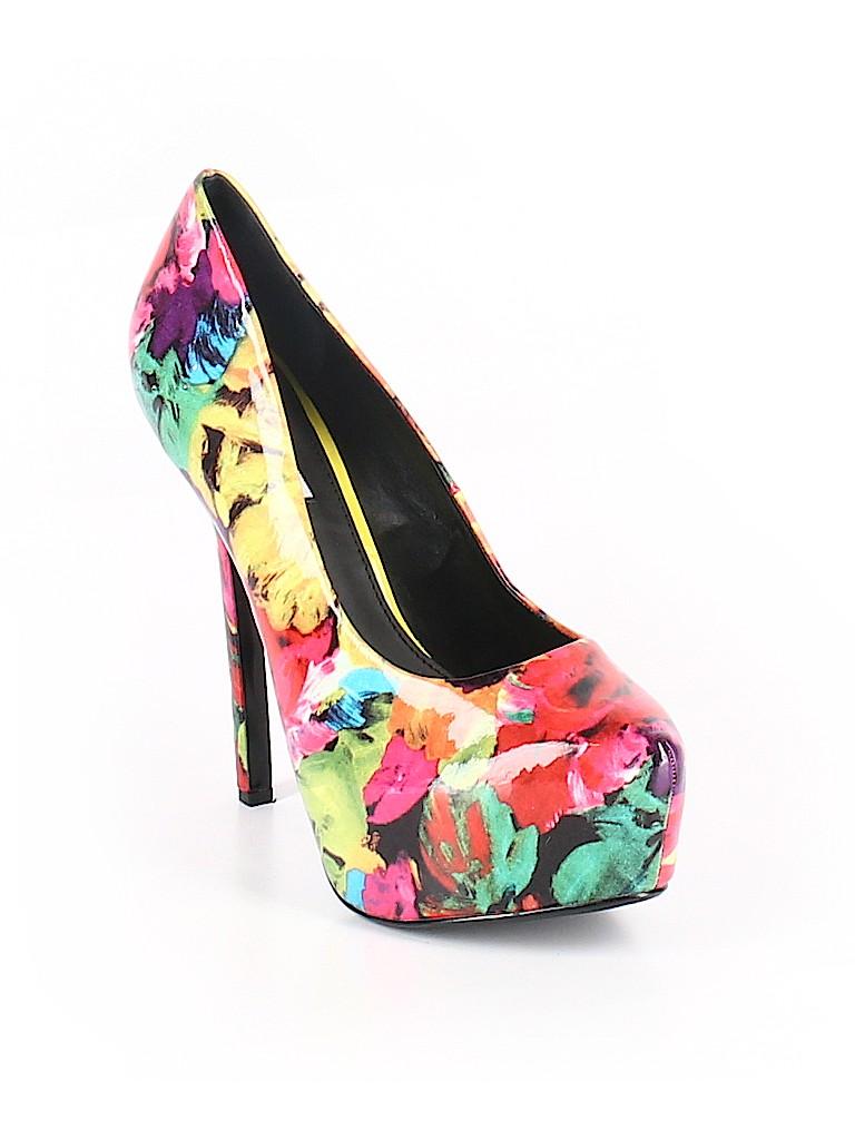 10c978626f5 Steve Madden Floral Red Heels Size 11 - 62% off
