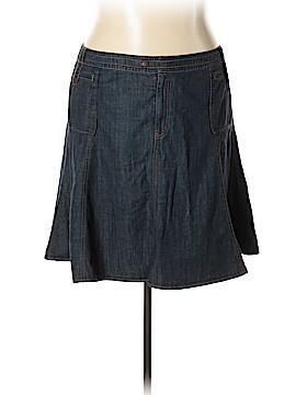 Sigrid Olsen Denim Skirt Size 18 (Plus)
