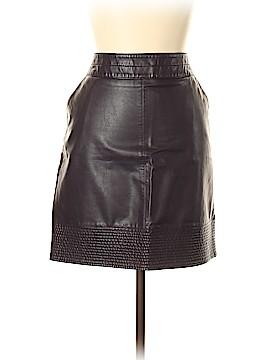Vanessa Virginia Faux Leather Skirt Size 12