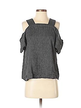 Lou & Grey Short Sleeve Blouse Size M
