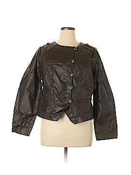Lane Bryant Faux Leather Jacket Size 14 (Plus)