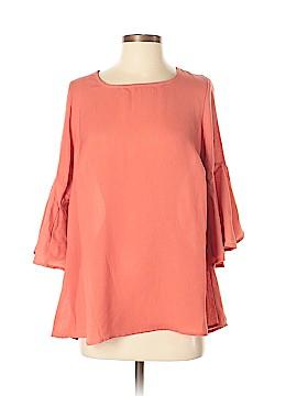 Bobeau 3/4 Sleeve Blouse Size M