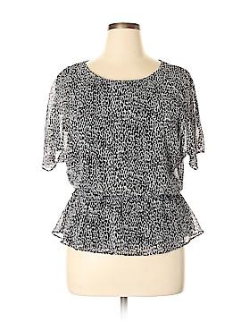 DressBarn Short Sleeve Blouse Size 16 (Petite)