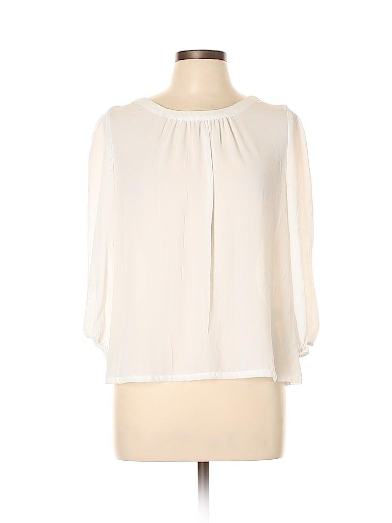 7th Avenue Design Studio New York & Company Women 3/4 Sleeve Blouse Size L