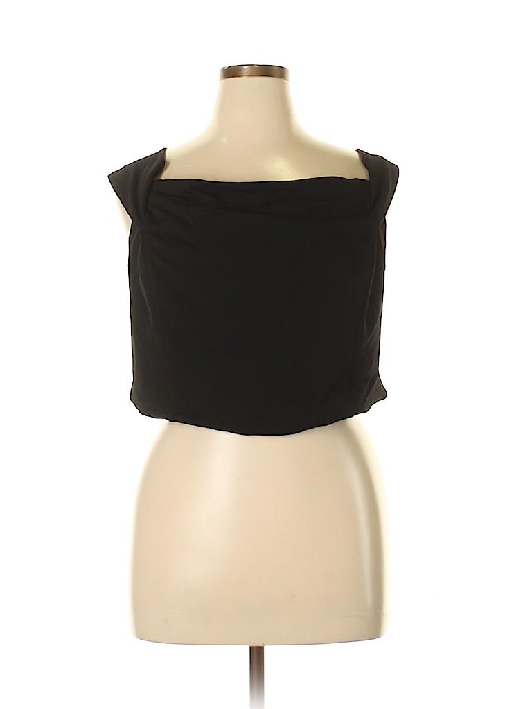 City Chic Women Sleeveless Blouse Size 24 Plus (XL) (Plus)