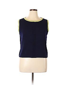 St. John Sport Sleeveless Blouse Size XL