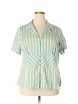 Venezia Short Sleeve Button-Down Shirt Size 22/24 Plus (Plus)