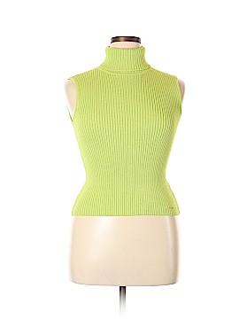 St. John Sport Wool Pullover Sweater Size L