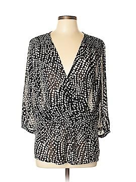 Ann Taylor Factory 3/4 Sleeve Blouse Size 10