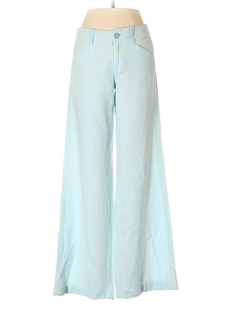 c5ccf5b4dd1 Pilcro and The Letterpress Solid Light Blue Linen Pants Size 4 - 90 ...
