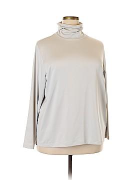 Susan Graver Long Sleeve Turtleneck Size 2X (Plus)