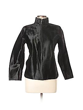 DKNY Leather Jacket Size M