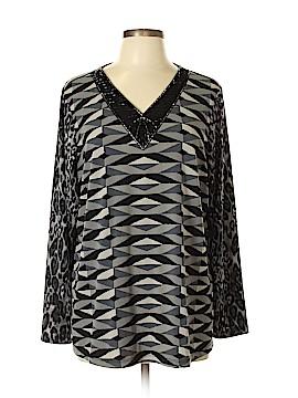 Susan Graver Long Sleeve Top Size XL