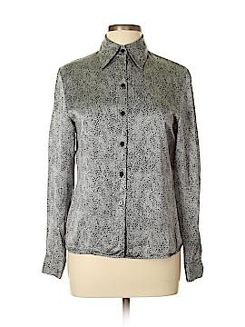 Isabel Ardee Long Sleeve Silk Top Size 10