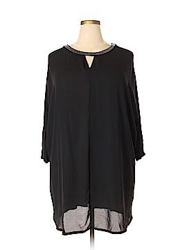 Sejour 3/4 Sleeve Blouse Size 3X (Plus)