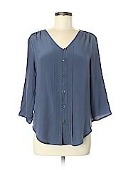 Yumi Kim 3/4 Sleeve Silk Top