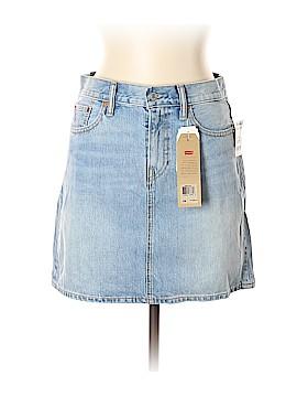 Levi's Denim Skirt 28 Waist