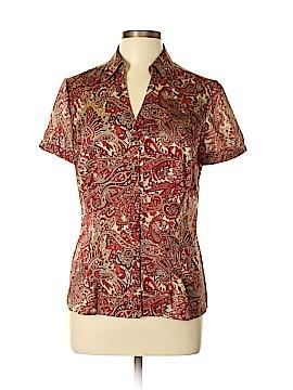 Ann Taylor LOFT Short Sleeve Blouse Size 10