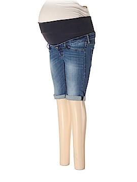 H&M Mama Denim Shorts Size 6 (Maternity)