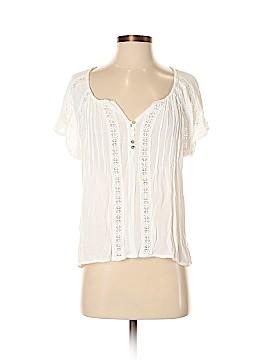 En Creme Short Sleeve Blouse Size S