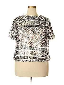 Forever 21 Plus Short Sleeve Blouse Size 3X (Plus)