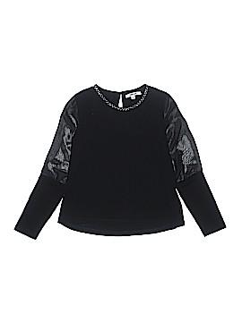 DKNY Long Sleeve Top Size L (Kids)